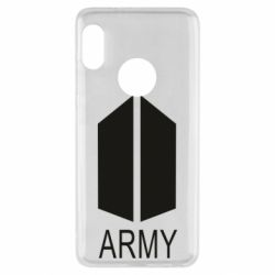 Чехол для Xiaomi Redmi Note 5 Bts army