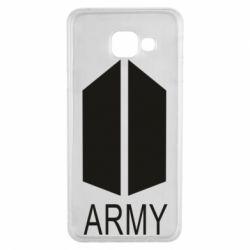 Чохол для Samsung A3 2016 Bts army