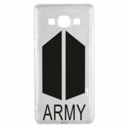 Чохол для Samsung A5 2015 Bts army