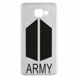Чохол для Samsung A5 2016 Bts army