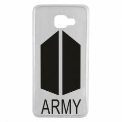 Чохол для Samsung A7 2016 Bts army