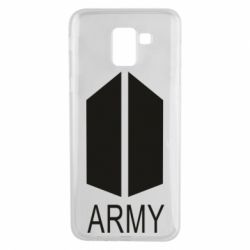 Чохол для Samsung J6 Bts army