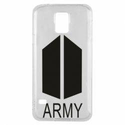 Чохол для Samsung S5 Bts army