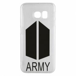 Чохол для Samsung S6 EDGE Bts army
