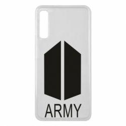 Чохол для Samsung A7 2018 Bts army
