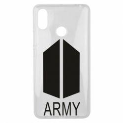 Чехол для Xiaomi Mi Max 3 Bts army