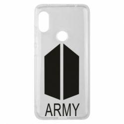 Чехол для Xiaomi Redmi Note 6 Pro Bts army