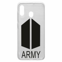 Чохол для Samsung A20 Bts army