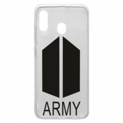 Чохол для Samsung A30 Bts army