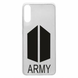 Чохол для Samsung A70 Bts army