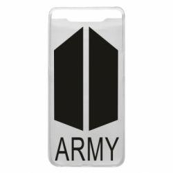Чохол для Samsung A80 Bts army