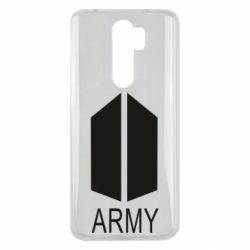 Чехол для Xiaomi Redmi Note 8 Pro Bts army