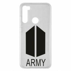 Чехол для Xiaomi Redmi Note 8 Bts army