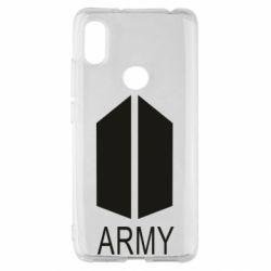 Чехол для Xiaomi Redmi S2 Bts army
