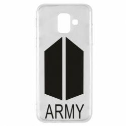 Чохол для Samsung A6 2018 Bts army