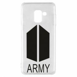Чохол для Samsung A8 2018 Bts army