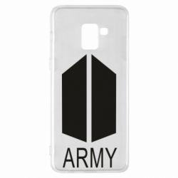 Чохол для Samsung A8+ 2018 Bts army