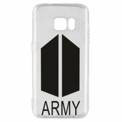 Чохол для Samsung S7 Bts army