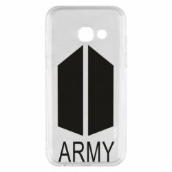 Чохол для Samsung A3 2017 Bts army