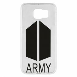Чохол для Samsung S6 Bts army