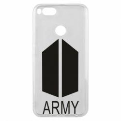 Чехол для Xiaomi Mi A1 Bts army