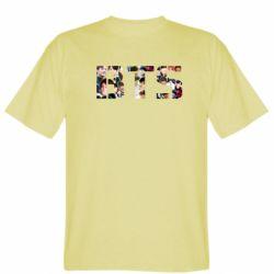 Мужская футболка BTS collage