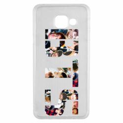 Чехол для Samsung A3 2016 BTS collage