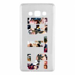 Чехол для Samsung A7 2015 BTS collage