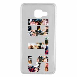 Чехол для Samsung A7 2016 BTS collage