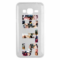 Чехол для Samsung J3 2016 BTS collage