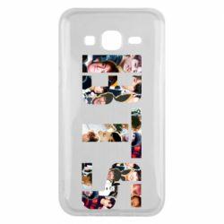 Чехол для Samsung J5 2015 BTS collage