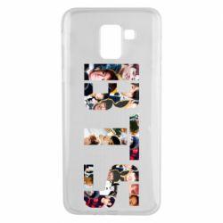 Чехол для Samsung J6 BTS collage