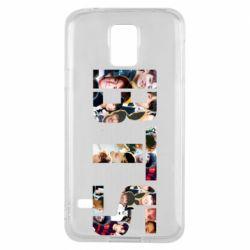 Чехол для Samsung S5 BTS collage