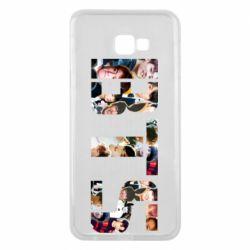 Чехол для Samsung J4 Plus 2018 BTS collage