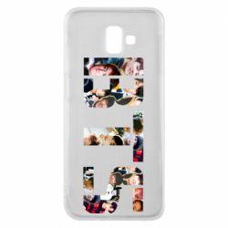 Чехол для Samsung J6 Plus 2018 BTS collage