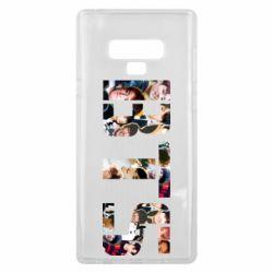 Чехол для Samsung Note 9 BTS collage