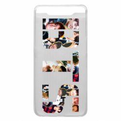 Чехол для Samsung A80 BTS collage