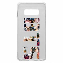 Чехол для Samsung S10e BTS collage