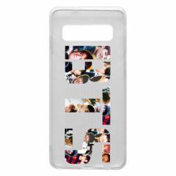 Чехол для Samsung S10 BTS collage