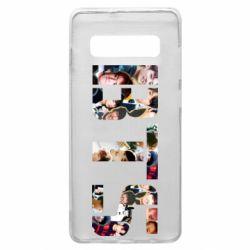 Чехол для Samsung S10+ BTS collage