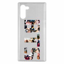 Чехол для Samsung Note 10 BTS collage