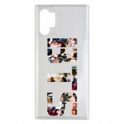 Чехол для Samsung Note 10 Plus BTS collage