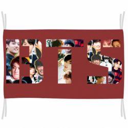 Флаг BTS collage