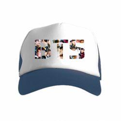 Детская кепка-тракер BTS collage