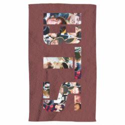 Полотенце BTS collage