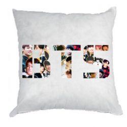 Подушка BTS collage