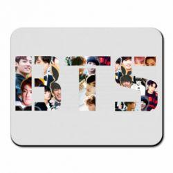 Коврик для мыши BTS collage