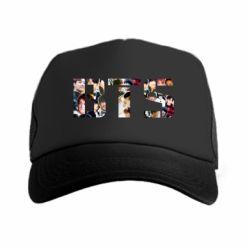 Кепка-тракер BTS collage