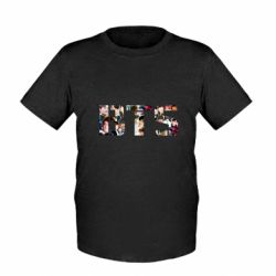 Детская футболка BTS collage