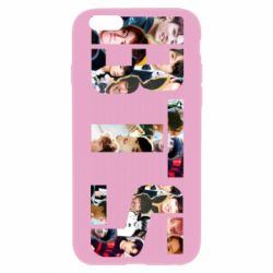 Чехол для iPhone 6 Plus/6S Plus BTS collage